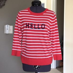 Brand new without tags. 3/4 length sleeve sweater.